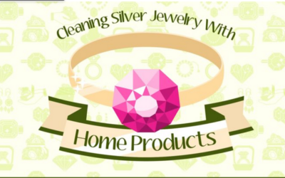 Cleaning Jewlery With Home Products – Infograph